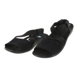 Comodi sandali da donna neri Adanex 17498 nero 1