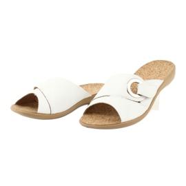 Le scarpe Befado da donna possono 265D002 bianco 3
