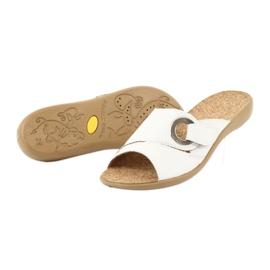 Le scarpe Befado da donna possono 265D002 bianco 4