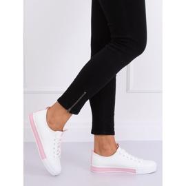 Sneakers da donna bianche CC-17 rosa 3