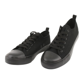Sneakers nere American Club LH16 nero 3