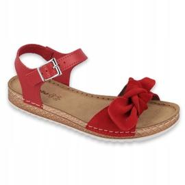 Scarpe Comfort Inblu da donna 158D117 rosso 1