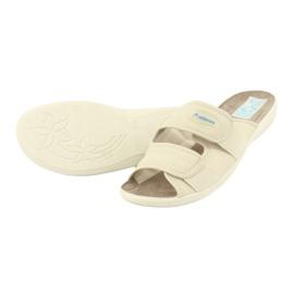 Pantofole elastiche Adanex 17660 beige 3