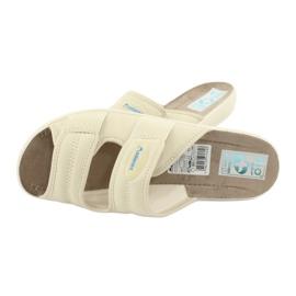 Pantofole elastiche Adanex 17660 beige 4