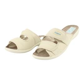 Pantofole elastiche Adanex 17660 beige 2