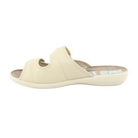 Pantofole elastiche Adanex 17660 beige 1