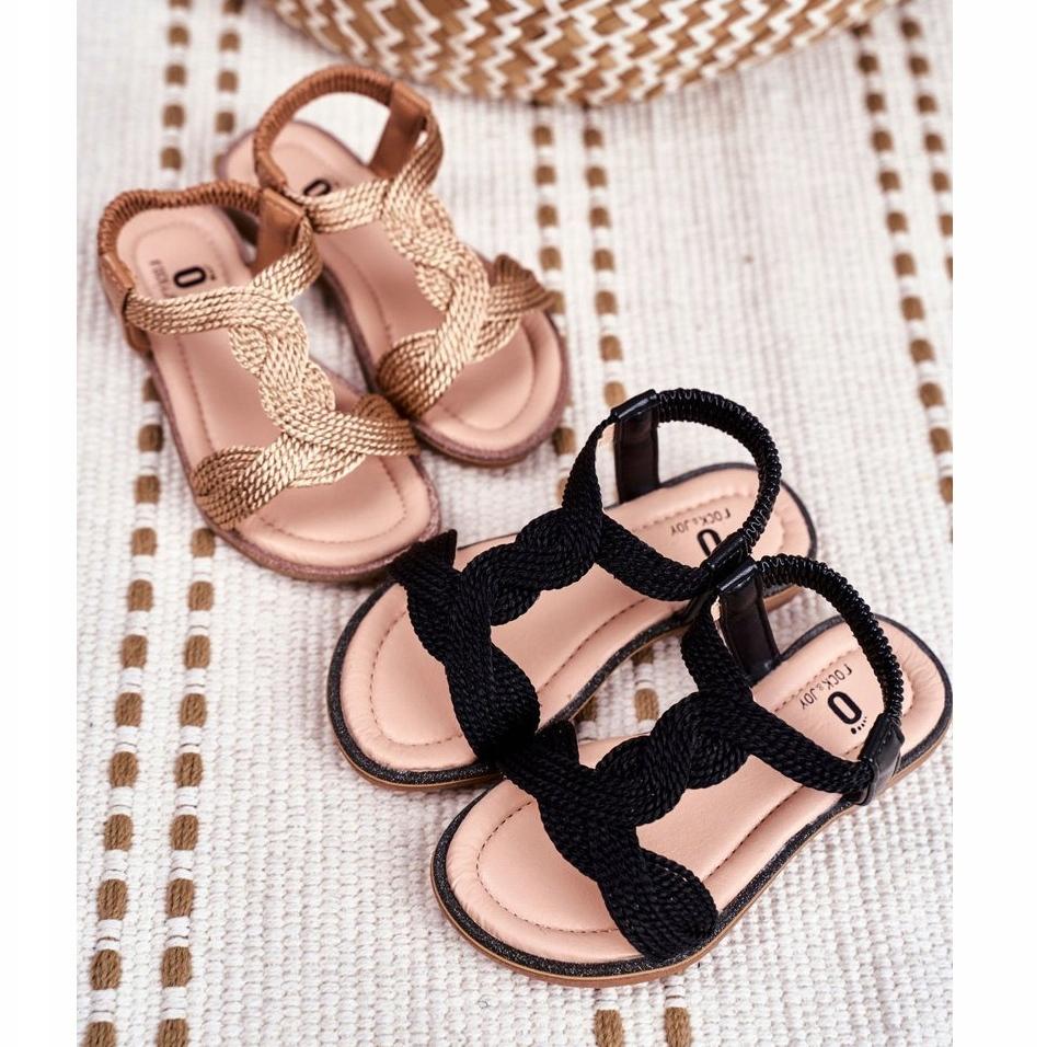 miniatura 2 - FRROCK Sandali neri per bambini Lamado