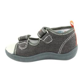 American Club Sandali americani scarpe per bambini sottopiede in pelle TEN46 1