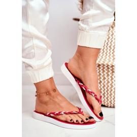 SEA Ciabatte infradito da donna con pantofole rosse Peggie rosso 1