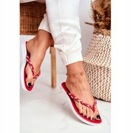 SEA Ciabatte infradito da donna con pantofole rosse Peggie rosso 2
