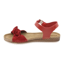Scarpe Comfort Inblu da donna 158D117 rosso 2