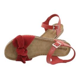 Scarpe Comfort Inblu da donna 158D117 rosso 5