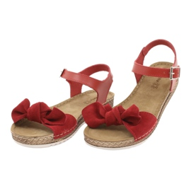 Scarpe Comfort Inblu da donna 158D117 rosso 3