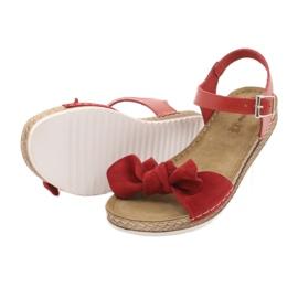 Scarpe Comfort Inblu da donna 158D117 rosso 4