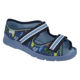 Scarpe per bambini Befado 969Y161 blu navy multicolore 1