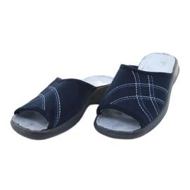Le scarpe Befado da donna possono 442D147 blu 3