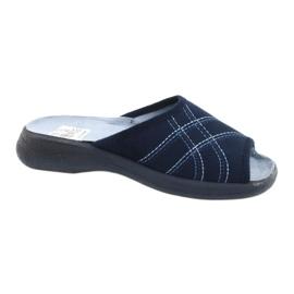Le scarpe Befado da donna possono 442D147 blu 1