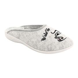 Pantofole in feltro Wake Up Adanex 25642 Grigio nero 2