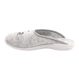 Pantofole in feltro Wake Up Adanex 25642 Grigio nero 1