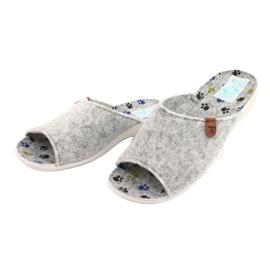 Pantofole in feltro Adanex 25494 grigio 2