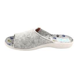 Pantofole in feltro Adanex 25494 grigio 1