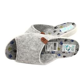 Pantofole in feltro Adanex 25494 grigio 4