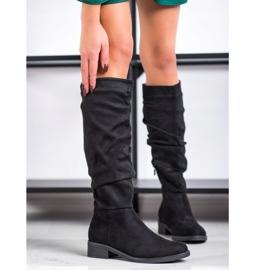 Sweet Shoes Stivali di camoscio nero 2
