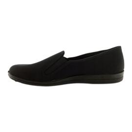 Pantofole slip-on nere Befado 001M060 nero 2