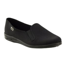 Pantofole slip-on nere Befado 001M060 nero 1