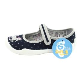 Scarpe per bambini Befado 114X414 marina grigio 6