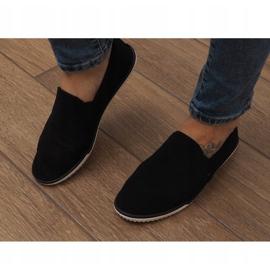 Sneakers Slip-On in Lycra D16M Nere nero 1