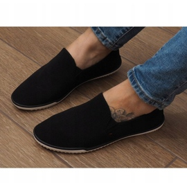 Sneakers Slip-On in Lycra D16M Nere nero 3
