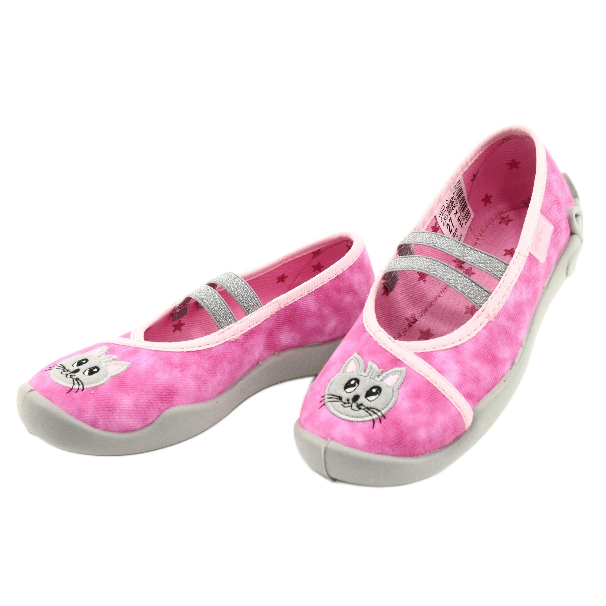 miniatura 4 - Scarpe per bambini Befado 116X290 rosa argento grigio