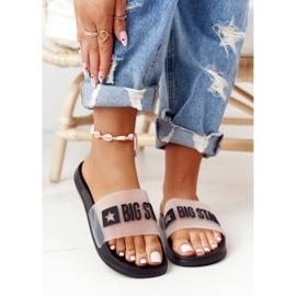 Pantofole da donna Big Star FF274A200 Nere incolore nero 4