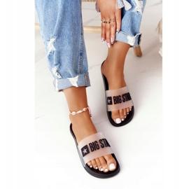 Pantofole da donna Big Star FF274A200 Nere incolore nero 2