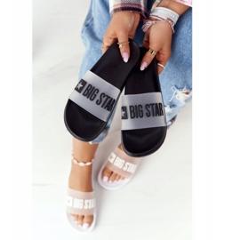 Pantofole da donna Big Star FF274A200 Nere incolore nero 3