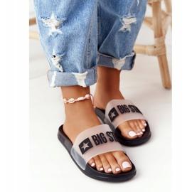 Pantofole da donna Big Star FF274A200 Nere incolore nero 5
