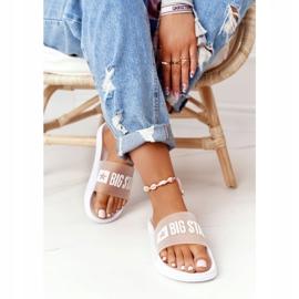 Pantofole da donna Big Star FF274A199 Bianche incolore bianco 1