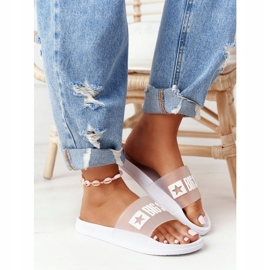 Pantofole da donna Big Star FF274A199 Bianche incolore bianco 2