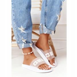 Pantofole da donna Big Star FF274A199 Bianche incolore bianco 6