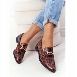 S.Barski Mocassini eleganti da donna S. Barski Leopard marrone 5