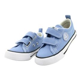 Sneakers blu americane American Club LH64 / 21 1