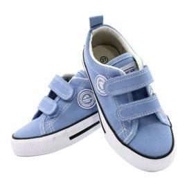 Sneakers blu americane American Club LH64 / 21 4