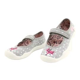 Ballerine bambina BLANCA BEFADO 114X425 bianco rosa grigio 1