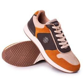 NEWS Scarpe sportive da uomo Sneakers Giallo-Marrone Harold multicolore 2