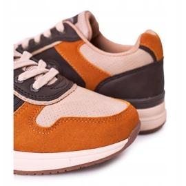 NEWS Scarpe sportive da uomo Sneakers Giallo-Marrone Harold multicolore 3