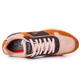 NEWS Scarpe sportive da uomo Sneakers Giallo-Marrone Harold multicolore 4