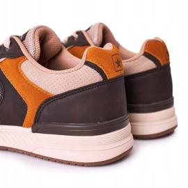 NEWS Scarpe sportive da uomo Sneakers Giallo-Marrone Harold multicolore 5