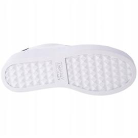 Tommy Hilfiger Iconic Leather Flatform scarpe in EN0EN01113-YBR bianco marina 3