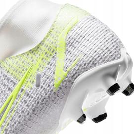 Scarpe da calcio Nike Mercurial Superfly 8 Academy FG / MG M CV0843 107 bianco 4